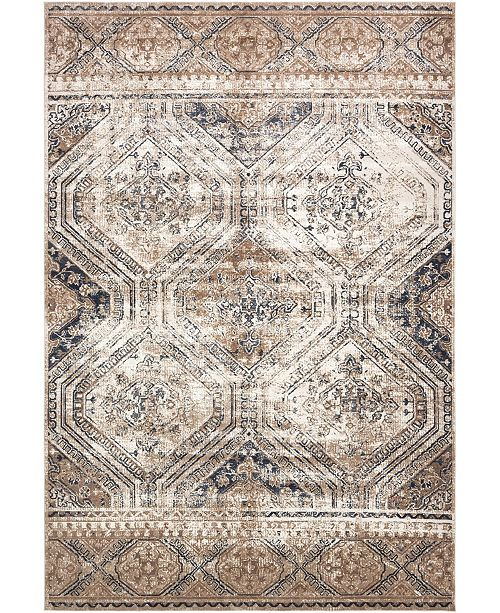 "Bridgeport Home Odette Ode5 Navy Blue 10' x 14' 5"" Area Rug"