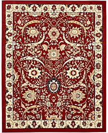 Aelmoor Ael1 Red 8' x 10' Area Rug