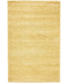 "Bridgeport Home Uno Uno1 Yellow 3' 3"" x 5' 3"" Area Rug"