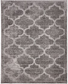 Filigree Shag Fil2 Dark Gray 8' x 10' Area Rug
