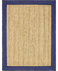 Braided Jute A Bja4 Natural 8' x 10' Area Rug