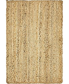 Braided Jute C Bjc5 Natural 2' x 3' Area Rug