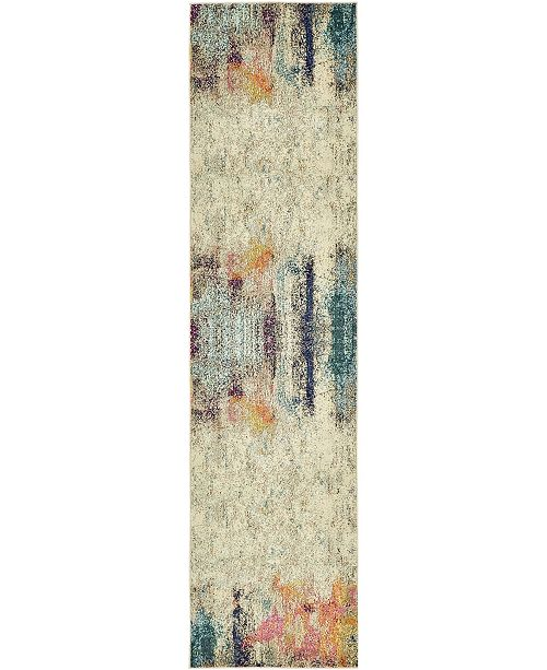 "Bridgeport Home Crisanta Crs8 Beige 2' 7"" x 10' Runner Area Rug"