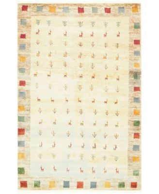 "Tempe Tmp1 Ivory 5' 5"" x 8' Area Rug"