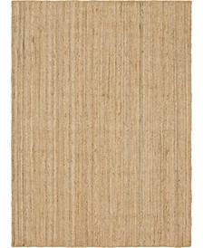 Braided Jute C Bjc5 Natural 7' x 10' Area Rug