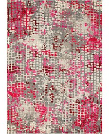 Bridgeport Home Crisanta Crs4 Pink 9' x 12' Area Rug