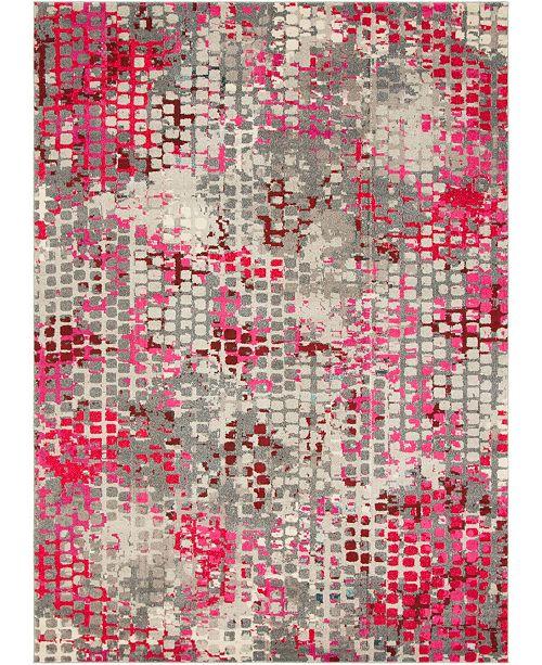 Bridgeport Home Crisanta Crs4 Pink 9' x 12' Area Rug