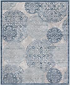 Aitana Ait3 Blue 8' x 10' Area Rug