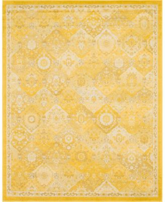 Lorem Lor2 Yellow 8' x 10' Area Rug