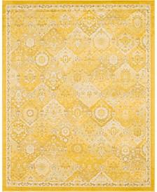 Lorem Lor2 Yellow 8' x 10' Area Rug