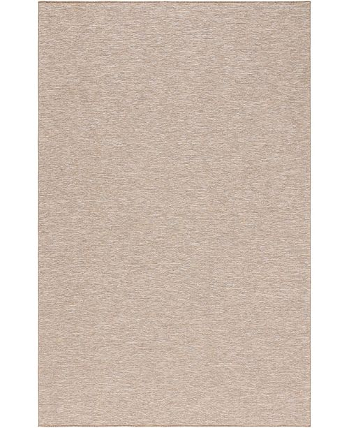 "Bridgeport Home Pashio Pas8 Beige 5' 3"" x 8' Area Rug"