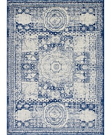 Bridgeport Home Mobley Mob2 Blue 9' x 12' Area Rug