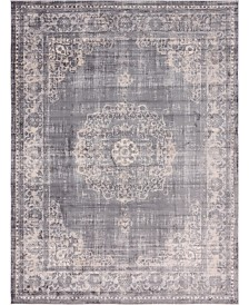 "Bridgeport Home Anika Ani1 Gray 9' 10"" x 13' Area Rug"