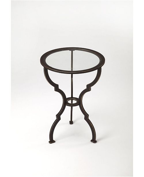 Butler Specialty Butler Yvonne Metal End Table