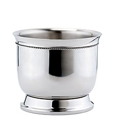 International Stainless Steel Double-Walled Wine Cooler with Tie Knot, 6.25-Quart