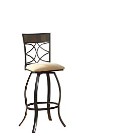 Pansy Bar Chair with Swivel, Set of 2