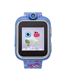 PlayZoom Kids Smartwatch with Lavender Butterfly Printed Strap