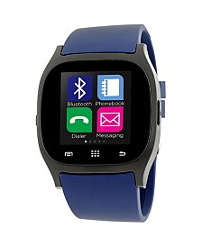 iTouch Smartwatch Black Case with Navy Strap