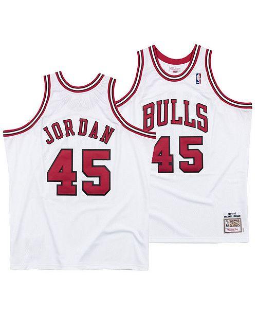 online store 26a39 c249b Men's Michael Jordan Chicago Bulls Authentic Jersey
