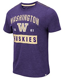 Colosseum Men's Washington Huskies Team Patch T-Shirt