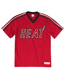Mitchell & Ness Men's Miami Heat Overtime Win V-Neck T-Shirt