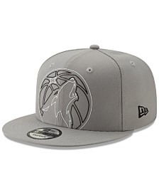 New Era Minnesota Timberwolves Light It Up Gray 9FIFTY Snapback Cap