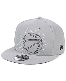 New Era Phoenix Suns Light It Up Gray 9FIFTY Snapback Cap