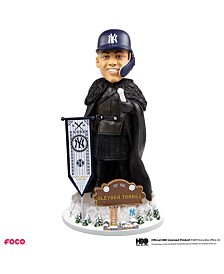 Forever Collectibles Gleyber Torres New York Yankees Game Of Thrones Nights Watch Bobblehead