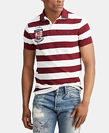 Polo Ralph Lauren Men's Stripe Rugby Polo