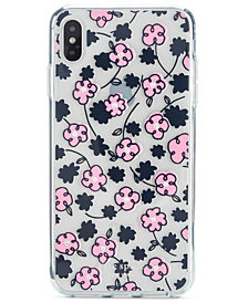 kate spade new york Jeweled Floradoodle iPhone XS Case