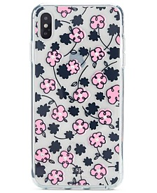 kate spade new york Jeweled Floradoodle iPhone XS Case