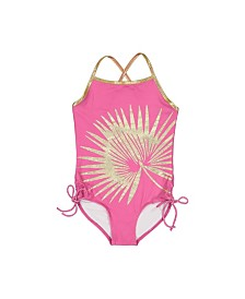 Masala Baby Girls Crossback One Piece Palm