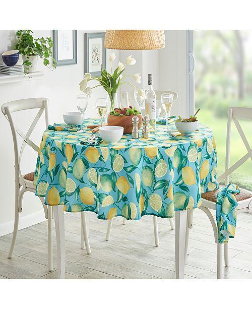Elrene Lemon Grove Stain Resistant