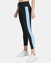 819cd1a87d4 DKNY Sport Colorblocked Ankle Leggings, Created for Macy's