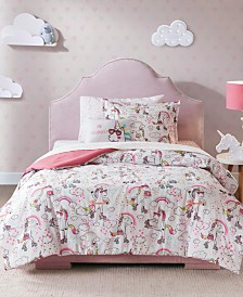 Mi Zone Kids Peggy Full 8 Piece Complete Bed and Sheet Set