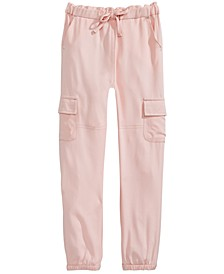 Big Girls Cargo Jogger Pants, Created for Macy's