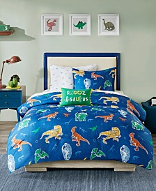 Mi Zone Kids Logan Full 8 Piece Complete Bed and Sheet Set