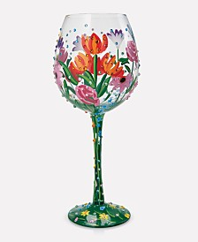 Enesco Lolita Spring Bling Wine Glass