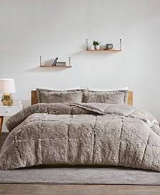 Intelligent Design Malea Twin/Twin XL 2-Pc. Shaggy Faux Fur Comforter Set