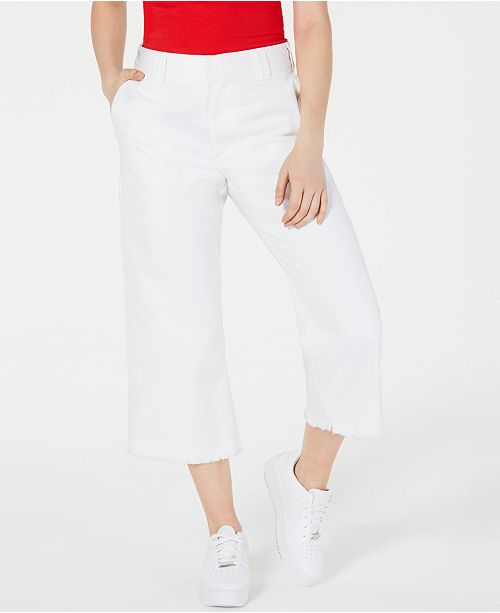 Dickies Frayed Cropped Pants