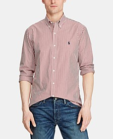 Men's Classic Fit Stretch Button Down Shirt