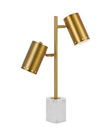 AF Lighting Derry Two-Light Table Lamp
