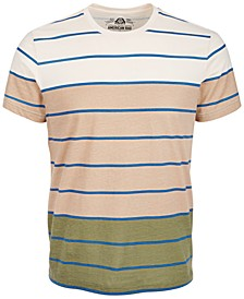 Men's Striped T-Shirt, Created for Macy's
