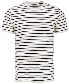 American Rag Striped Speckled Shirt, Created for Macy's