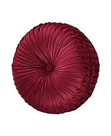 J Queen Maribella Crimson Tufted Round