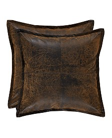 """J Queen Taos Brown 18"""" Square"""