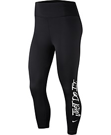 One Cropped Training Leggings