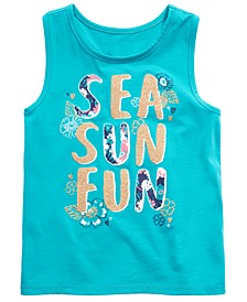 Toddler Girls Graphic-Print Tank Top, Created for Macy's