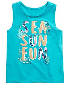 Epic Threads Little Girls Graphic-Print Tank Top, Created for Macy's