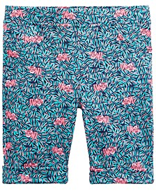 Toddler Girls Tiger-Print Bermuda Shorts, Created for Macy's